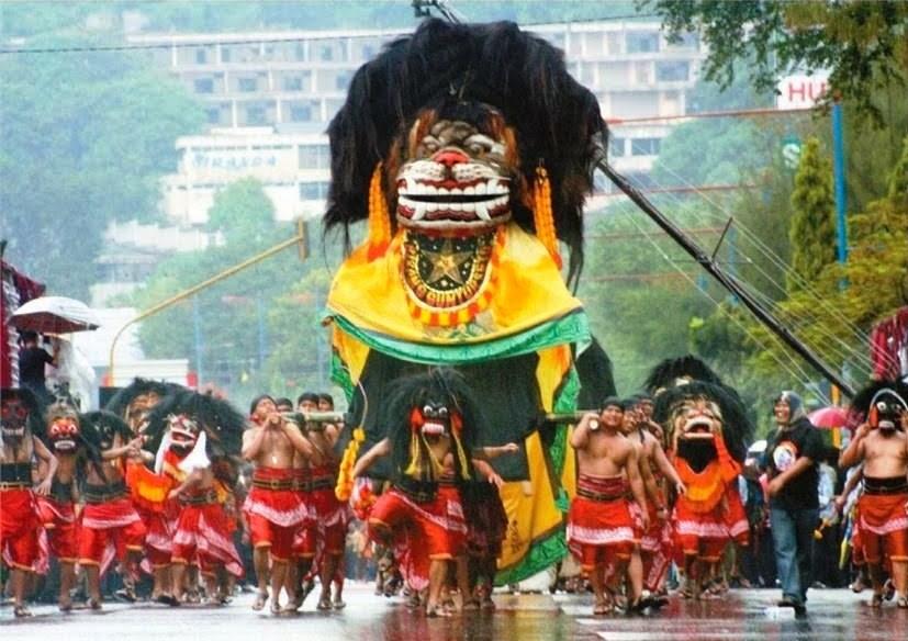 Festival Barongan Blora Jawa Tengah