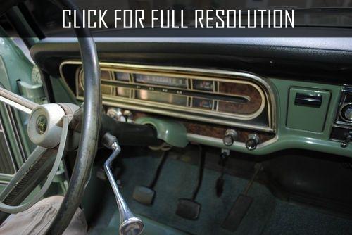 1970 Ford Pickup Dash