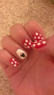 minnie mouse nails confessions