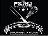 Mascarpone Cheesecake by Chef Turok