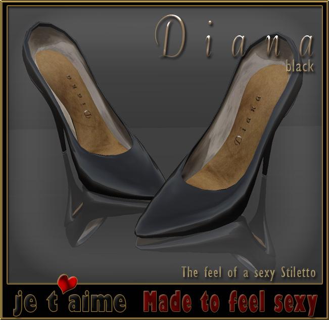 New, sexy and elegant: Pumps Stiletto *DIANA* black