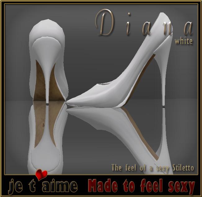 Sexy and elegant: Je-taime Pumps Stiletto white