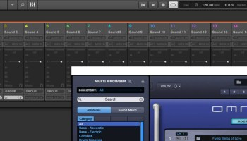 Sound design in Maschine with Spectrasonics Omnipshere - Maschine