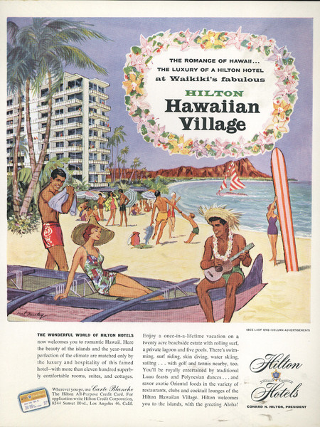 Retro Ad Of The Week Hilton Hotels 1950s