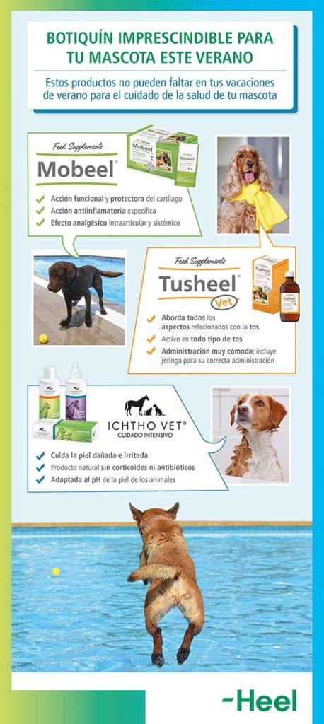 Botiquín imprescindible en verano para tu mascota - HeelVet
