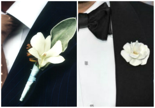 good boutonniere vs bad