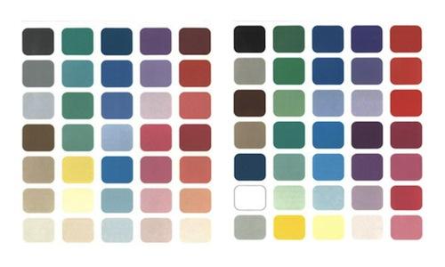cool colors