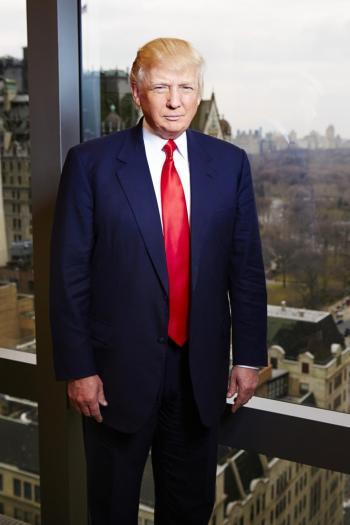 trump style suit