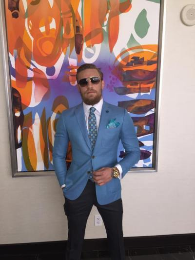 Conor McGregor Suit Style