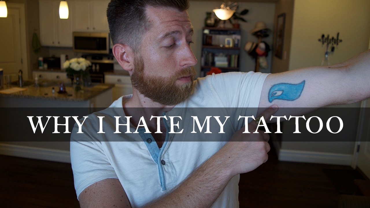masculine style why i hate my tattoo