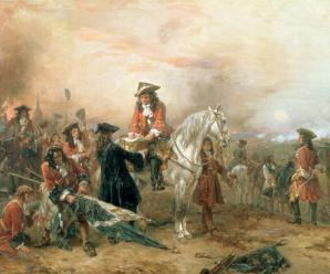 A Famous Victory: Marlborough Laying It All On the Line at The Battle of Blenheim