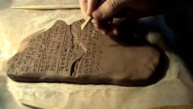 Hittite Scribe Tablet