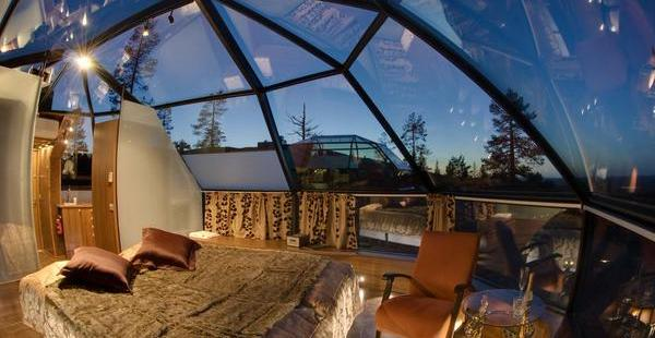The Glass Igloos Of Kakslauttanen