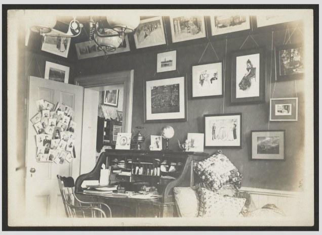 Harvard Dorm Rooms, 1899