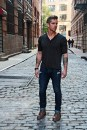 Henley - Threads & Heirs, Watch - Burberry, Jeans - Hollister, Boots - Tommy Hilfiger