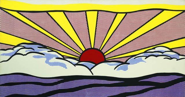 Roy Lichtenstein. Sunrise, 1965