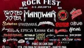 rock fest bcn 2014