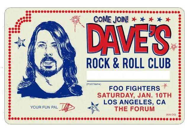 Cumpleaños Dave Grohl Los Ángeles