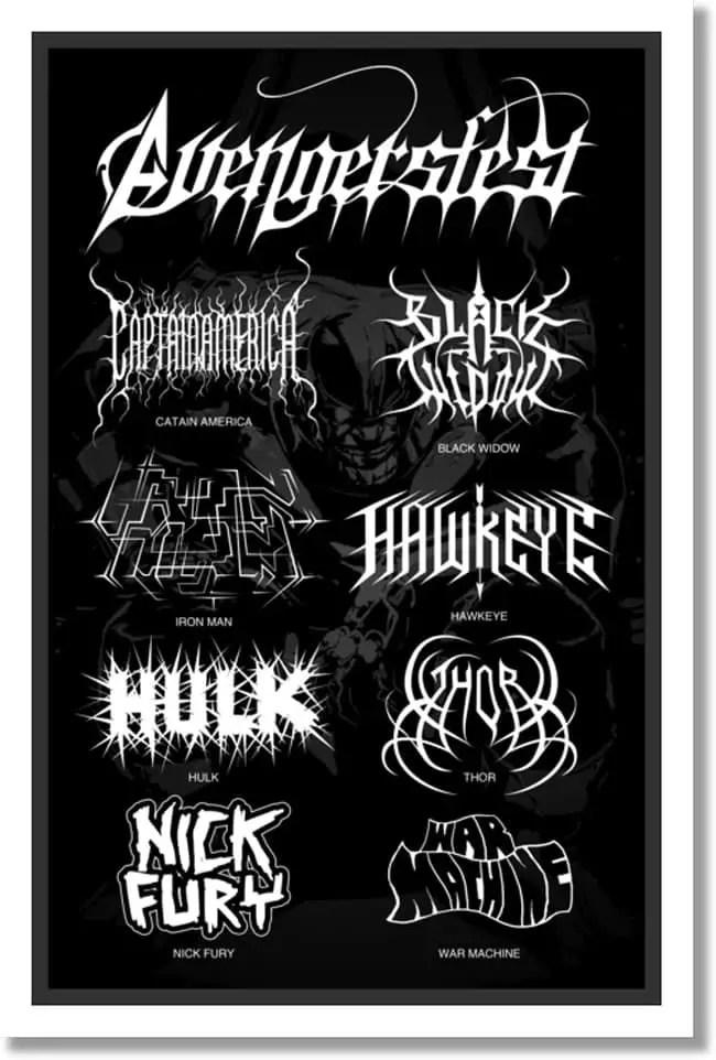 vengadores-black-metal