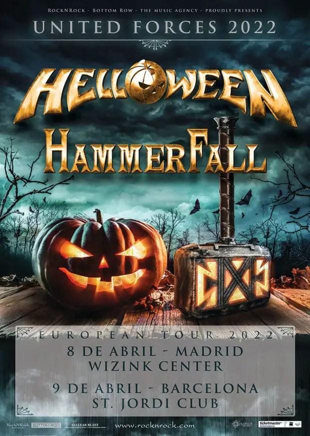 Agenda de giras, conciertos y festivales - Página 7 Helloween-hammerfall-madrid-barcelona-2022