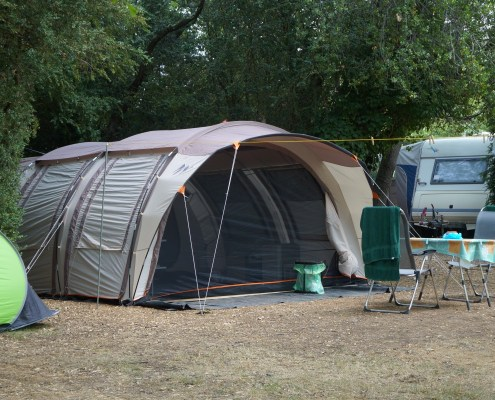 Camping emplacements