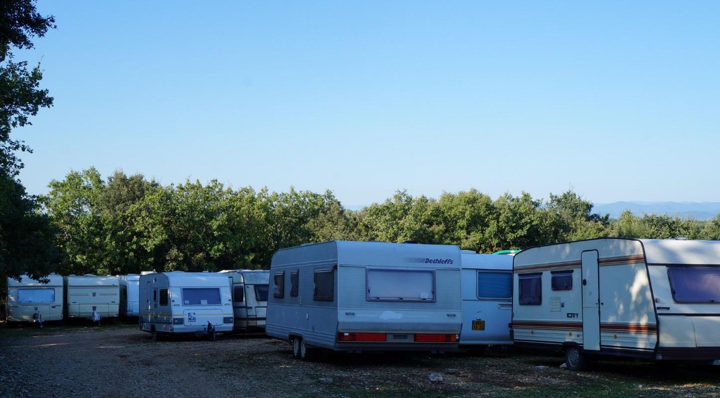 Camping gardiennage