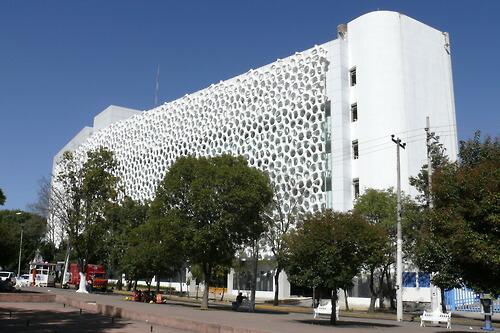 La fachada del edificio mexicano que absorbe contaminacin FOTOS  Ms de Mxico