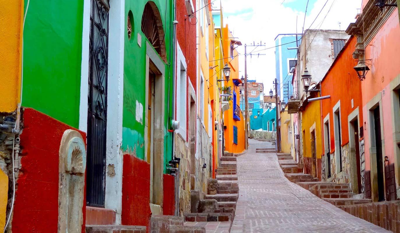 Mxico es color un recorrido por los lugares ms