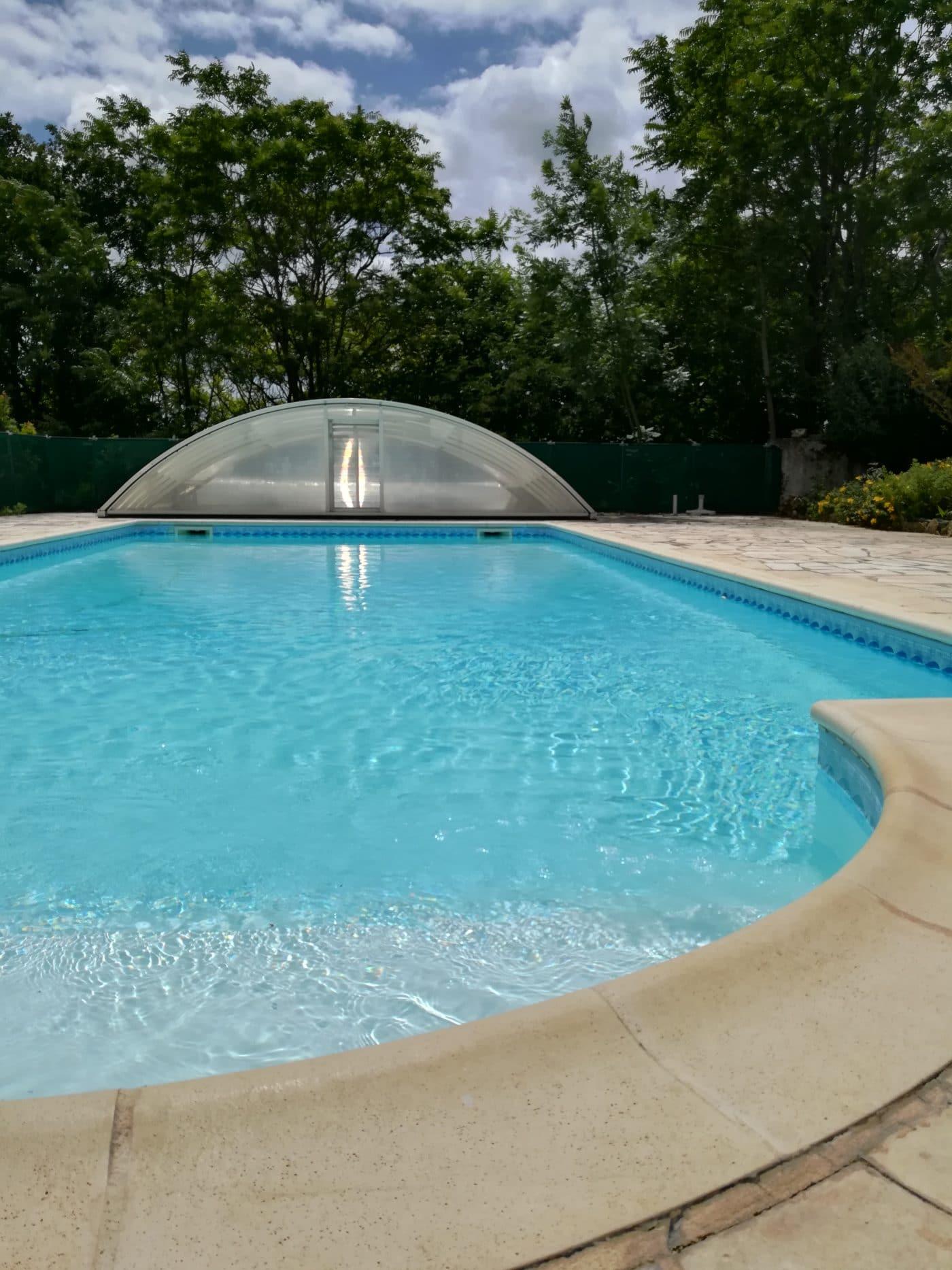 piscine lot dordogne détente famille