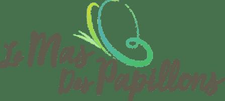 Logo du gîte le mas des papillons