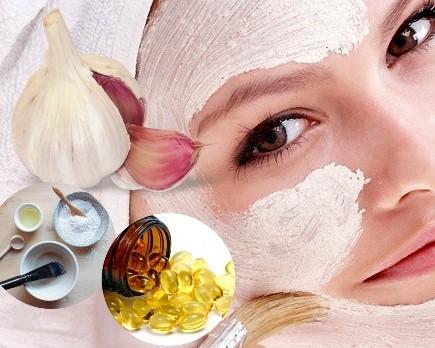 mascarilla de ajo para la piel