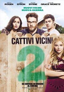 Il poster italiano di Cattivi Vicini 2