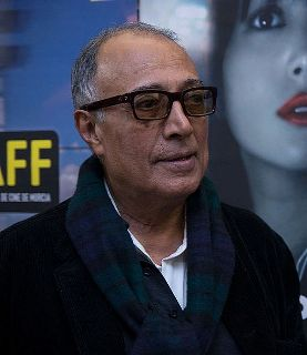 Il regista iraniano Abbas Kiarostami