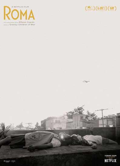 il poster del film Roma