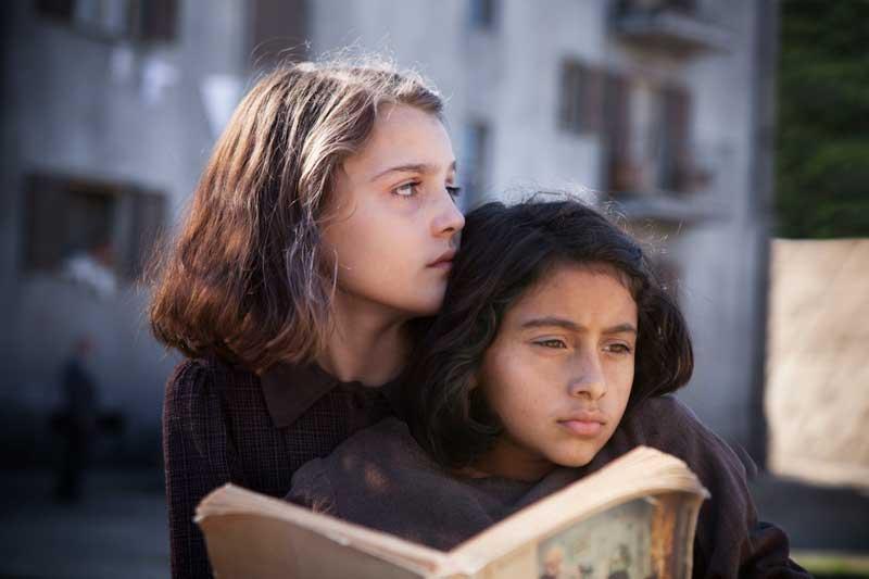 L'Amica Geniale, Elisa Del Genio (Elena da giovane) e Ludovica Nasti (Lila da giovane) - Photo by Eduardo Castaldo