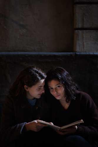 L'Amica Geniale, Margherita Mazzucco (Elena da ragazza) e Gaia Girace (Lila da ragazza) - Photo by Eduardo Castaldo