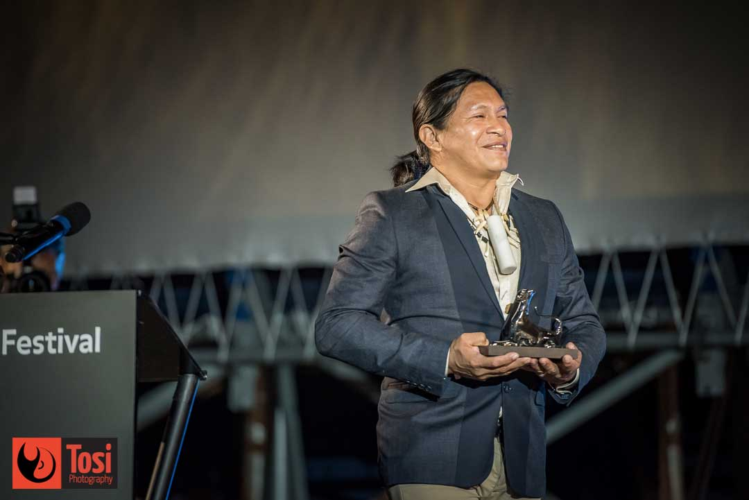 I vincitori di Locarno 72 - Miglior attore: Regis Myrupu per il film A FEBRE © Tosi Photography