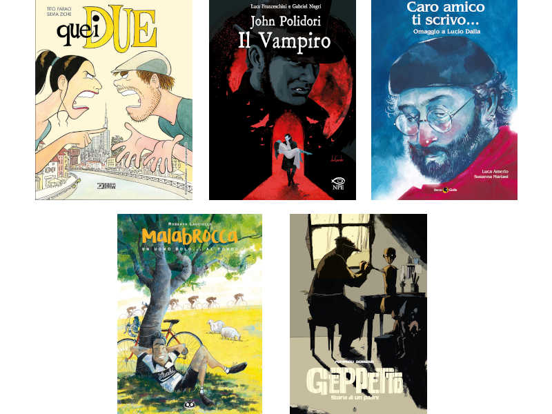 5 graphic novel da mettere sotto l'albero per Natale