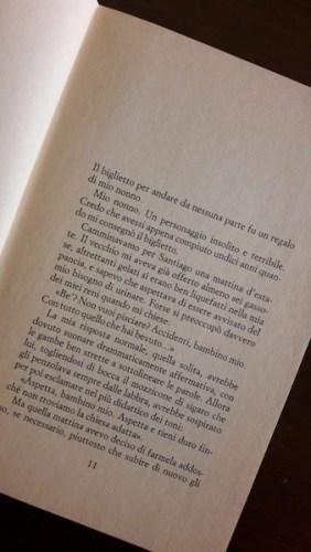 Luis Sepulveda, Frontiera Scomparsa, pagina 11.