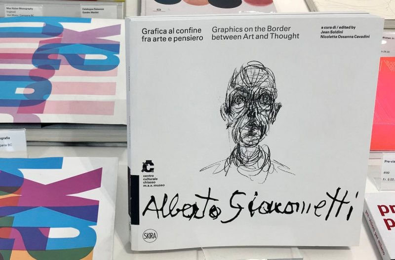 Il catalogo della mostra sulla grafica di Alberto Giacometti in corso al m.a.x museo