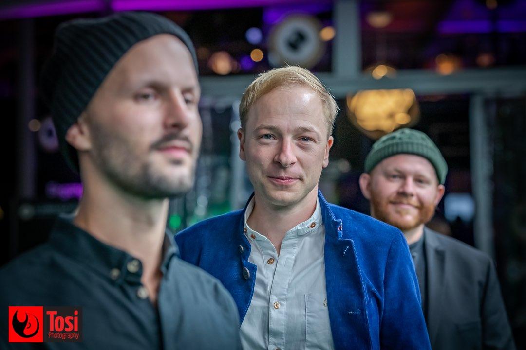 ZFF 2020 - Johannes Schellhorn (cutter) il regista Lukas Pitscheider e Steven Heye (camera) © Tosi Photography