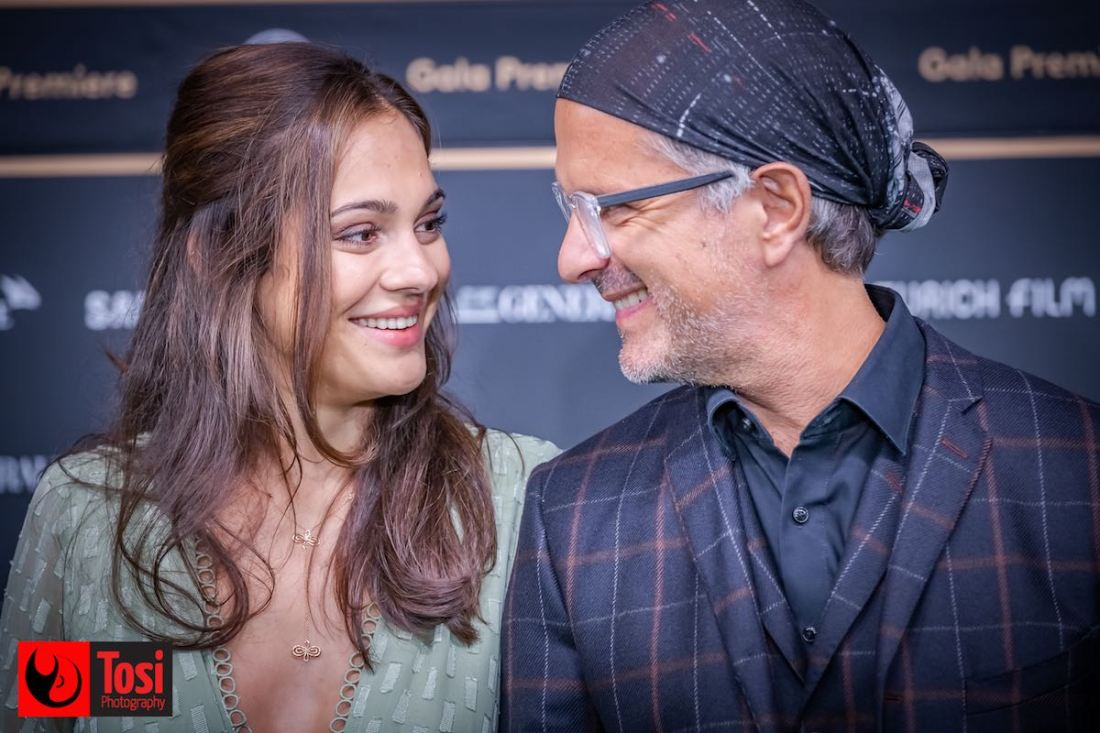 ZFF 2020 - actress Nilam Farooq and actor Christoph Maria Herbst © Tosi Photography