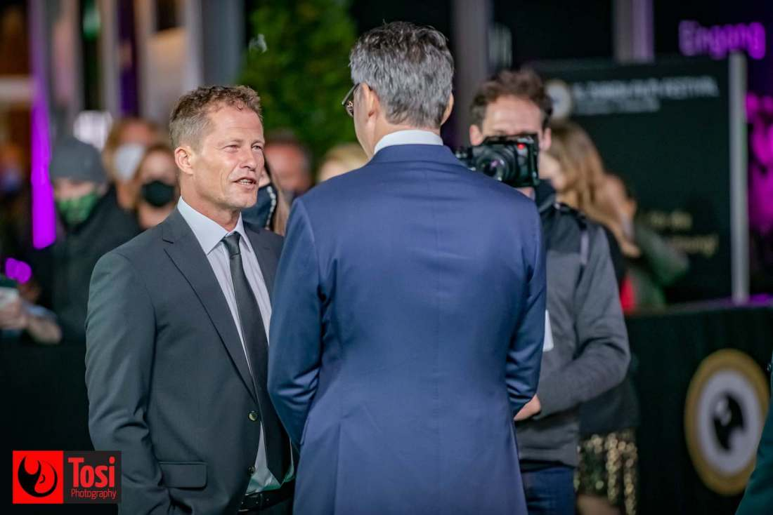 ZFF 2020 - director and actor Til Schweiger with ZFF artistic director © Tosi Photography