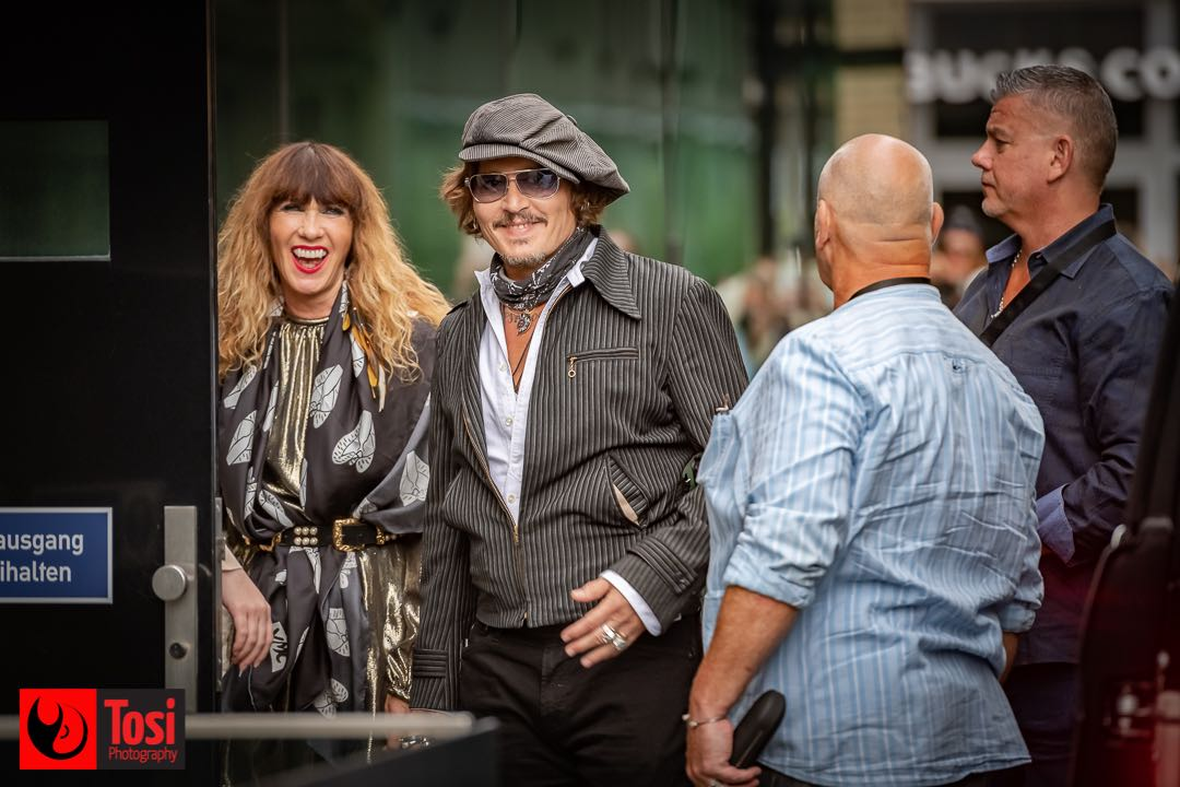 ZFF 2020 - Johnny Depp with fans © Tosi Photography