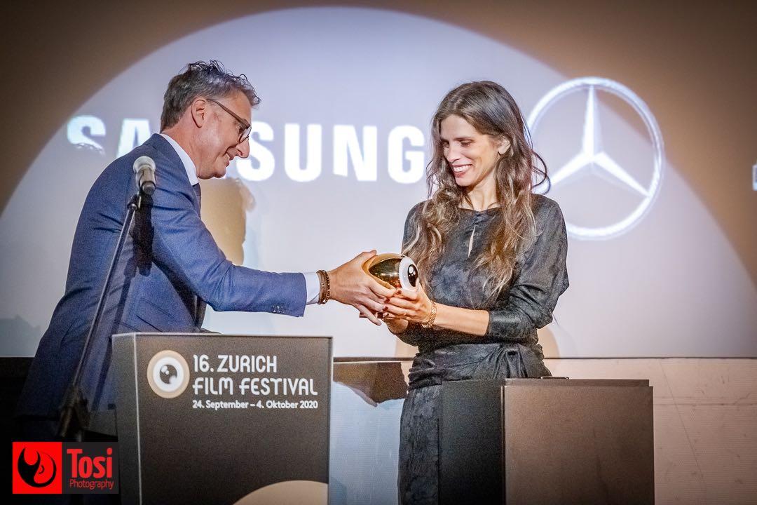 ZFF 2020 - Golden Eye Award to Maïwenn © Tosi Photography