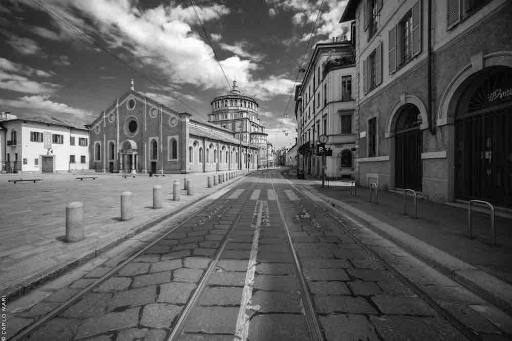 IO MILANO, Corso Magenta e S. Maria delle Grazie © Carlo Mari