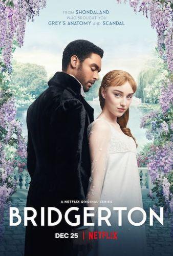 BRIDGERTON poster serie Netflix