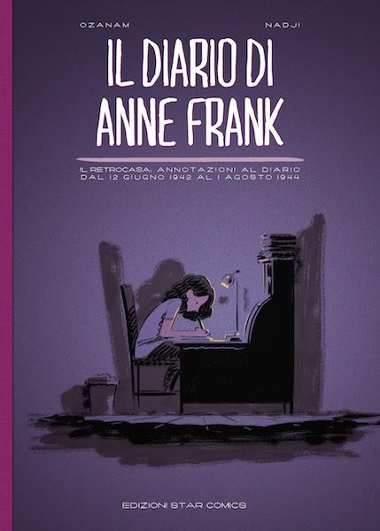 Il diario di Anne Frank - cover Edizioni Star Comics