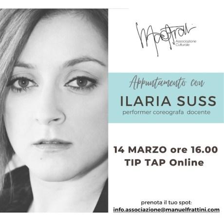 Appuntamento con Ilaria Suss. Photo: Associazione Manuel Frattini.