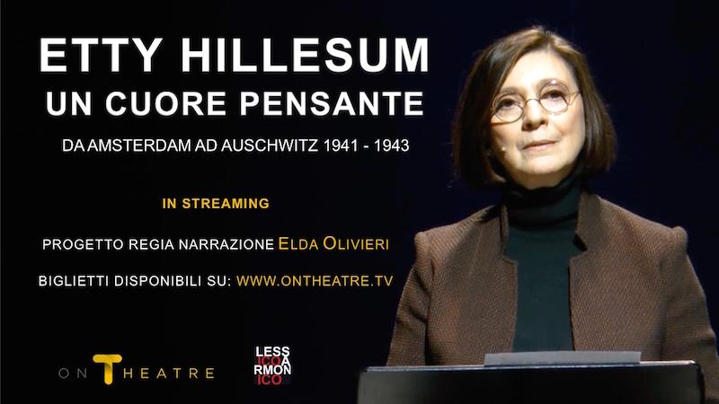 Etty Hillesum, la narrazione teatrale è su OnTheatre!